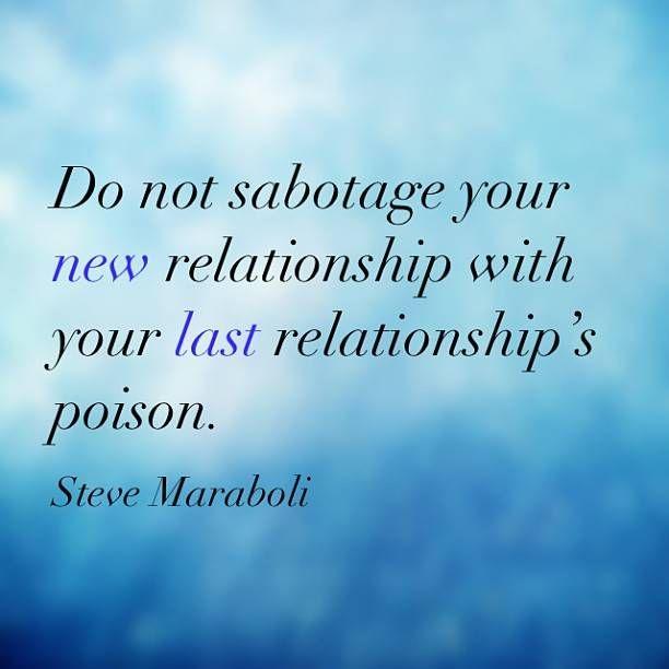 Why do i sabotage my relationships